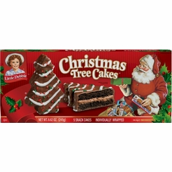 Little Debbie Christmas Tree Cakes - Chocolate (2 Boxes)