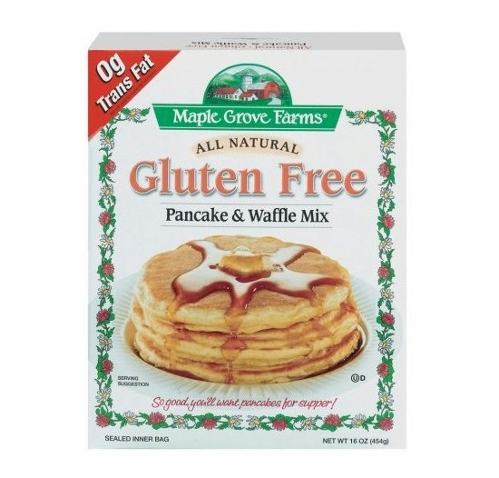 Maple Grove Farms All Natural Gluten Free Pancake & Waffle Mix 16 oz.