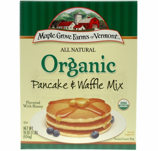 * Maple Grove Farms All Natural Organic Pancake & Waffle Mix 16 oz.