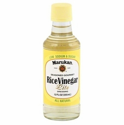 Marukan Rice Vinegar Seasoned Gourmet Lite 12 oz.