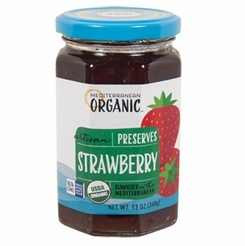 Mediterranean Organic Strawberry Preserves 13 oz.