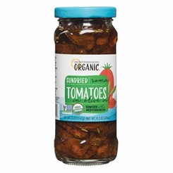 * Mediterranean Organic Sundried Tomatoes in Olive Oil 8.5 oz.