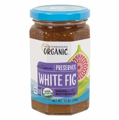 Mediterranean Organic White Fig Preserves 13 oz.