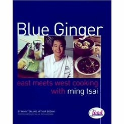 * Ming Tsai's Blue Ginger Autographed Cookbook