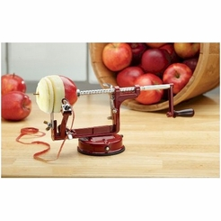 Mrs. Anderson's Apple Peeling Machine