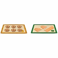 Mrs. Anderson's Sweet and Savory Set of 2 Half Size Baking Mats