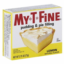 My*T*Fine Lemon Pudding & Pie Filling (4 Boxes)