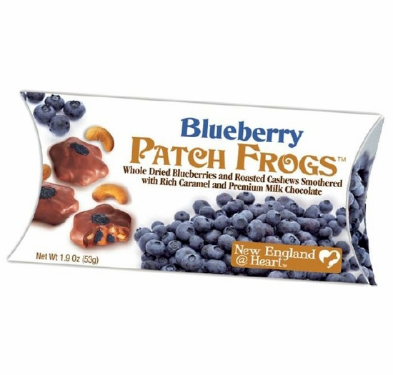 New England @ Heart Blueberry Patch Frogs 1.9 oz. (4 Boxes)