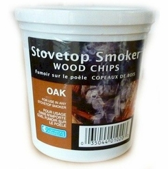 Oak Indoor Smoking Superfine Woodchips 4 oz.