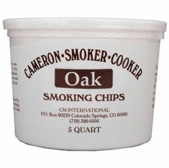 Oak Indoor Smoking Superfine Woodchips 5 QUART