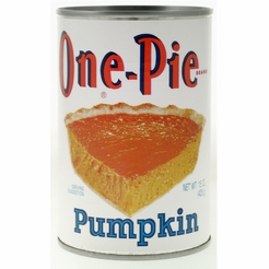 * One-Pie Pumpkin 15 oz.