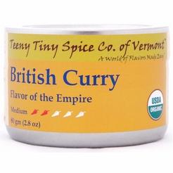 Organic British Curry 2.8 oz. (Flavor of the Empire)