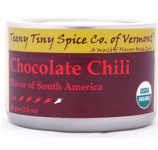 Organic Chocolate Chili 2.8 oz. (Flavor of South America)