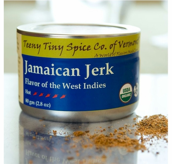 Organic Jamaican Jerk 2.8 oz. (Flavor of the West Indies)