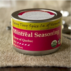 Organic Montréal Seasoning 2.8 oz. (Flavor of Quebec)