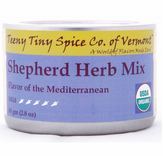 Organic Shepherd Herb Mix (Flavor of the Mediterranean)