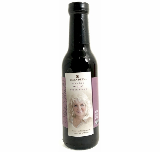 Paula Deen Merlot Wine Steak Sauce 9.5 oz.