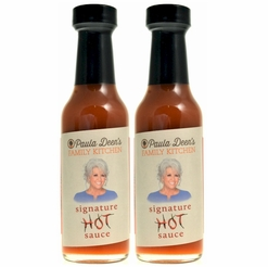 * Paula Deen The Lady & Son's Signature Hot Sauce 5 oz. (2 Bottles)