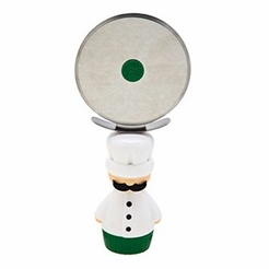 Paysan Pizza Cutter - Green