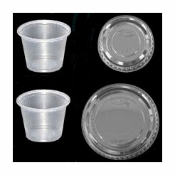 * Portion Cups Variety Pack with Lids