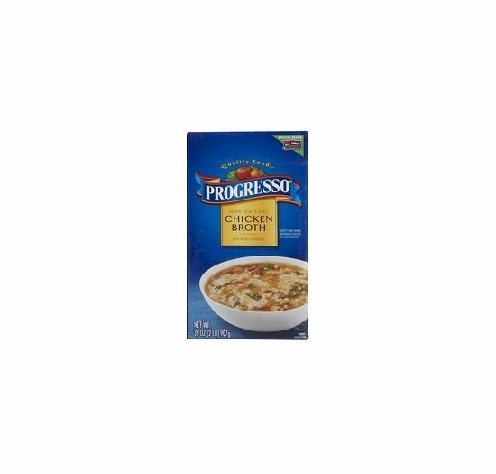 * Progresso Chicken Broth 32 oz.