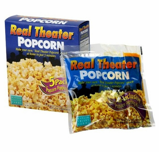 Real Theater Popcorn All-Inclusive Popping Kits - 5 Pack