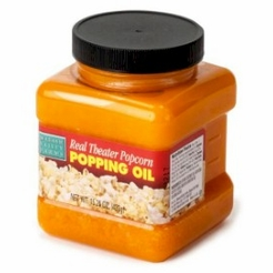 Real Theater Popcorn Popping Oil 16 oz.