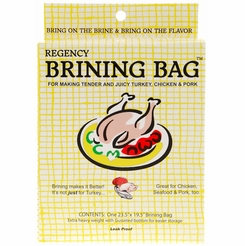 * Regency Turkey Brining Bag