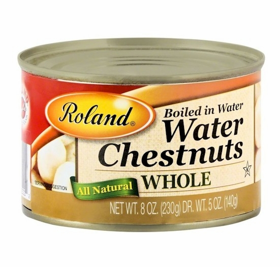 * Roland Water Chestnuts Whole 8 oz. (2 Cans)