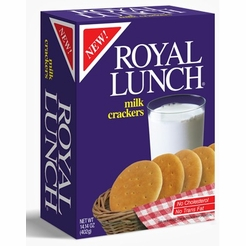 Royal Lunch Milk Crackers 12.35 oz.