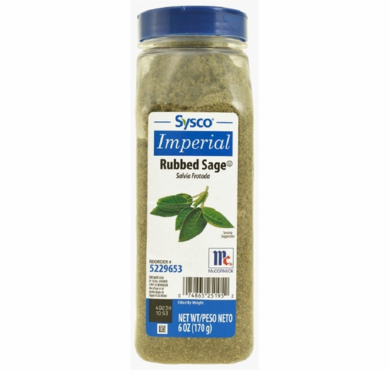 Sage Rubbed McCormick Sysco Imperial 6 oz.