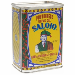 Saloio Portguese Olive Oil - 1 Quart Can