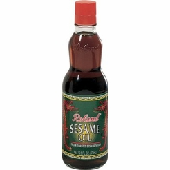 Sesame Oil from Toasted Sesame Seeds by Roland 6.2 oz.