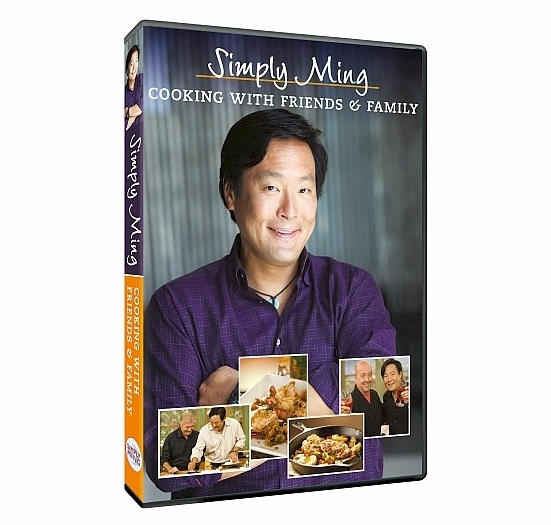 * Simply Ming: Cooking with Friends & Family DVD