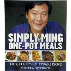 * Simply Ming One-Pot Meals: Quick, Healthy & Affordable Recipes Autographed