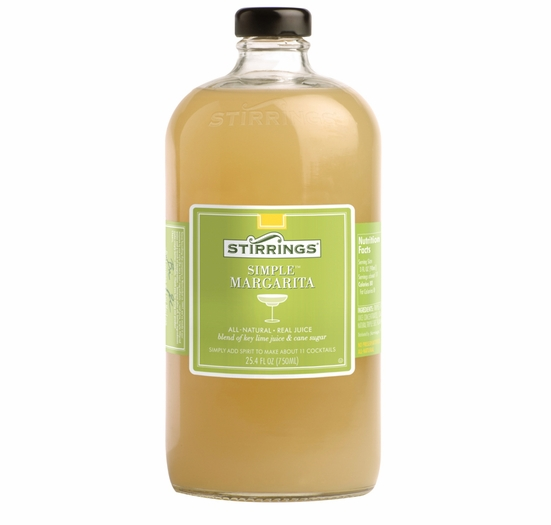 * Stirrings Margarita Cocktail Mixer - 750ml