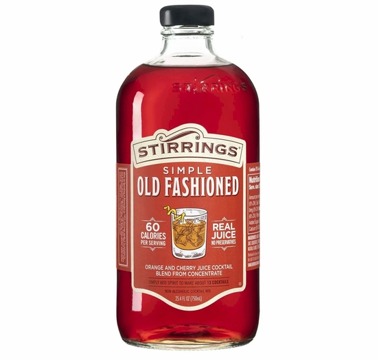 Stirrings Old Fashioned Cocktail Mix - 750 ml.