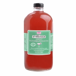 Stirrings Watermelon Martini Cocktail Mixer - 750ml
