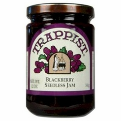 Trappist Blackberry Seedless Jam 12 oz.