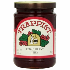 Trappist Red Currant Jelly 12 oz.
