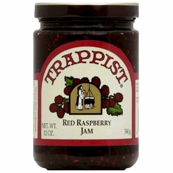 Trappist Red Raspberry Jam 12 oz.