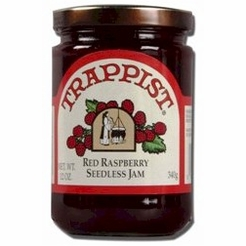 Trappist Red Raspberry Seedless Jam 12 oz.