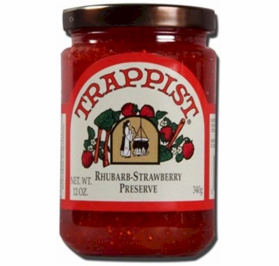 Trappist Rhubarb Strawberry Preserve 12 oz.