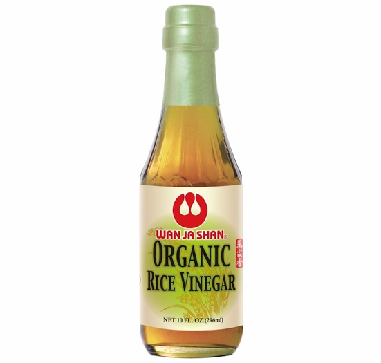 * Wan Ja Shan Organic Rice Vinegar 10 oz.