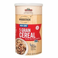 Woodstock 5 Grain Cereal 18.5 oz.