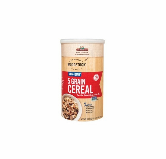 * Woodstock 5 Grain Cereal 18.5 oz.