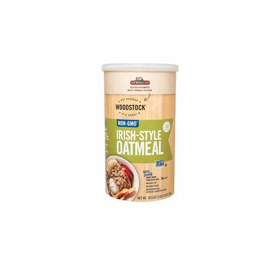 Woodstock Irish-Style Oatmeal 18.5 oz.