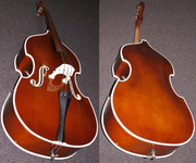 RB-1 Painted Upright Bass
