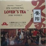 Ex Ginseng - Women Lover's  Tea -  Energy Enhancer Tea