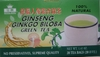 Ginseng and Ginkgo Biloba - Green Tea